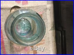 James Lutter Buffalo, N. Y, U. S. A. Star Jar With Original LID