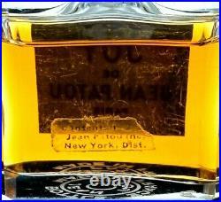 Jean Patou Joy de Jean Patou 1/2 oz 100% Full Parfum Pre-1967 New York Bottle