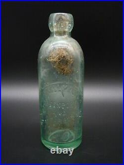 John Lellmann & Co Greenport & Sag Harbor, N. Y Hutchinson Bottle