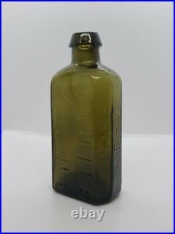 John Moffat Phoenix Bitters Price $1.00 New York Open Pontil Bottle