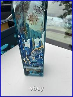 Johnie walker blue label bottle and case-new york