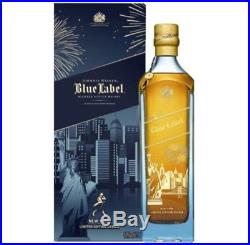 Johnnie Walker Blue Label New York Limited Edition 750ML (2bottles for $550)