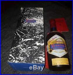 Jose cuervo reserva de la familia Box & bottle no diego frida NY knicks tequila