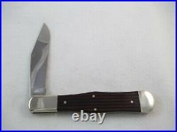 Ka-Bar Olean N. Y. 1983 Dog Head Club Coke Bottle Knife