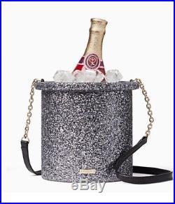 Kate Spade New York Champagne Bottle Bucket Shoulder Handbag