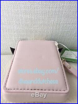 Kate Spade New York On Pointe Perfume Bottle Leather Coin Purse NWT