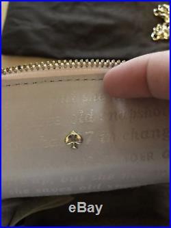 Kate Spade New York On Pointe Pink Perfume Bottle Leather Crossbody Bag