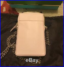 Kate Spade New York On Pointe Pink Perfume Bottle Leather Crossbody Bag, Nwt