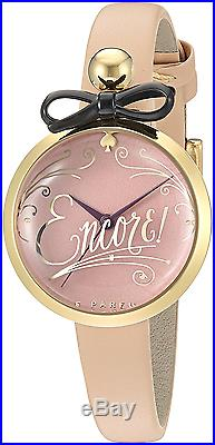 Kate Spade New York Women's Parfum Bottle Analog Display Quartz Beige Watch New