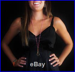 Kate Spade Ny Rare! Fun Bottle Opener Pendant Necklace Life Of The Party! Nwt