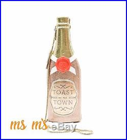 Kate Spade new york Steal The Spotlight Champagne Bottle Clutch