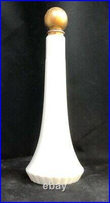 Lenox Green Mark Porcelain Ivory&gold Barber EuDeToilet dresser bottle Sak's NY