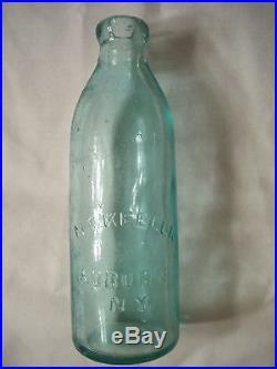 M. F. KEELER, AUBURN N. Y. Gravitating Stopper bottle