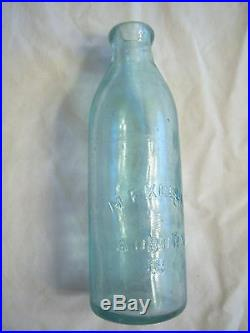 M. F. KEELER, AUBURN, N. Y. Gravitating Stopper bottle