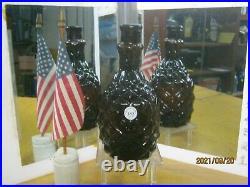 MINT BEAUTYAMERICAN GLASS WORKS W. & Co. N. Y. OPEN PONTIL PINEAPPLE BITTERS