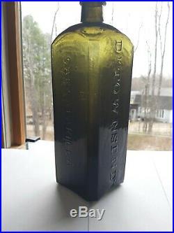 MINT withpontil Dr. Townseds Sarsaparilla Bottle NY