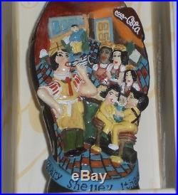 Mary Shelley Ithaca NY Coca-Cola Bottle, The Contour Collection Folk Art