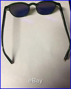 Men's Moscot Arthur Sunglasses Designer Frames Bottle Green Barney's New York