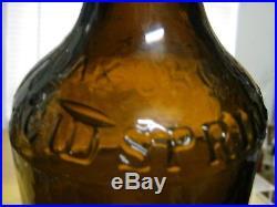 Mintn-25a3 Piece Mold1qt. H. W. Bostwickoak Orchard Acid Spgs. Broadway, Ny