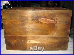 Narragansett Ri USA Ale Beer Wood Glass Bottle Art Advertising Sign Box Crate Ny