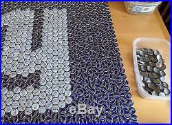 New York Giants Bottle Cap Coffee Table