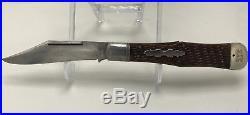 New York Knife Co NYK Walden Hammer Coke Bottle Hunter Lockback 4.5 Blade, RARE