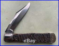 New York Knife Co Walden Coke Bottle Knife Lockback W Etch