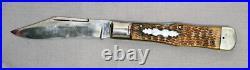New York Knife Co. Walden Single Blade Pocket Knife Large Coke Bottle Lock Back
