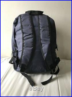 New York Yankees School Book Bag Backpack With Two Zippers And Bottle Holder