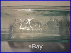 Nice Applied Top Open Pontil Bach's American Compound Auburn NY Medicine Bottle