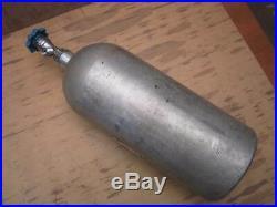 Nitrous Oxide 10 lb. Bottle with Valve NOS 10 Pound Aluminum Cylinder NY-TROUS+