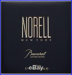 Norell New York Baccarat Limited Edition Parfum Bottle Perfume 1.7oz / 50mL