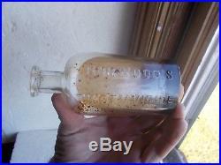 Norwood's Tincture Veratrum Viride 1880 Shaker Poison Medicine New Lebanon, Ny