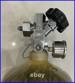 Ny-Trex Carbon Fiber Wrapped Nitrous Bottle By NOS with NOS Hi Flow Valve 12lb 9oz