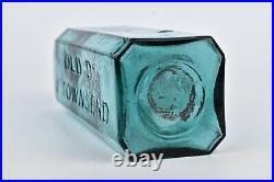 Old Dr. J Townsend's Sarsaparilla Bottle New York Iron Pontil Wonderful Color