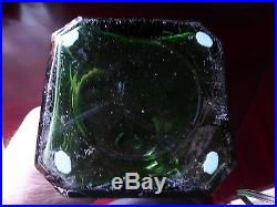 Old Dr. J. Townsends Sarsaparilla N. Y. 7up bottle Green beauty variant