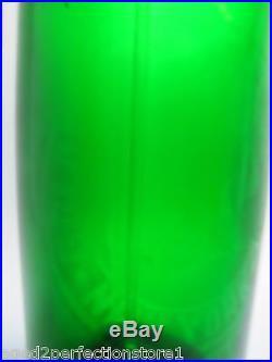 Old SIEGELS GOLDEN MEDAL BOTTLING Co NEW YORK Green Glass Seltzer Bottle