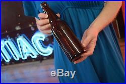 Old Utica Club Beer Bottle West End Brewery Utica New York Paper Label NICE