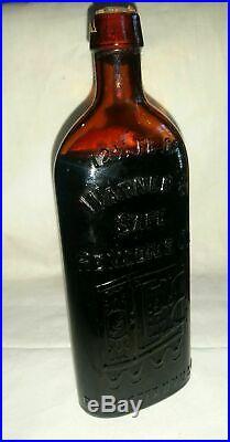 Old Warner's Safe Remedies Co. Compound A Diuretic Ny Medicine Bottle Box Label