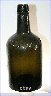 Olive Green Clarke & Co New York Bottle Crude