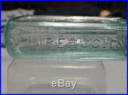 Open Pontil Clirehugh's Tricopherous For The Skin And Hair, NY Medicine Bottle