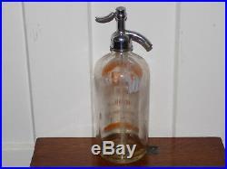 Orange Kist Soda Seltzer Bottle Binghamton, NY