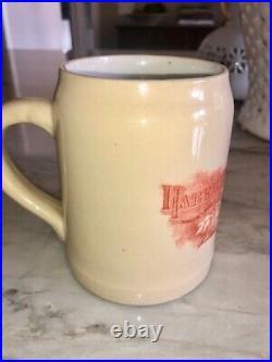Original Haberle Brewing Syracuse NY Pre Prohibition Congress Beer Mug