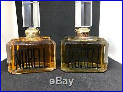 Original Scent Norell By Norell NY 1 Oz Perfume Splash New lot of 2 bottles