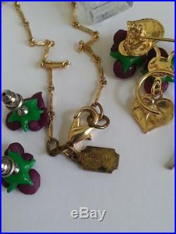 Pididdly Links Necklace Bottle Hp5 France Pendant Earrings Brooch Kingston N. Y
