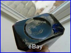 Plum Amethyst Black Glass MRS S A ALLEN'S WORLD HAIR RESTORER NEW YORK