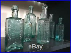 Pontil BottleGORDON'S CHAFALA / WM. TILDEN + NEPHEW / NORFOLK ST N. Y. 1830's