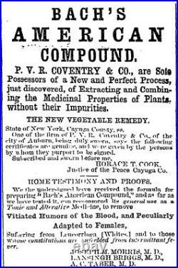 Pontil medicine AMERICAN COVENTRY COMPOUND AUBURN NY
