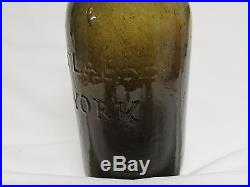 Pontiled Lynch & Clarke New York Golden Amber/Olive in color Crude