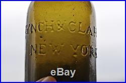 Pt. Lynch & Clarke New York Golden olive/amber